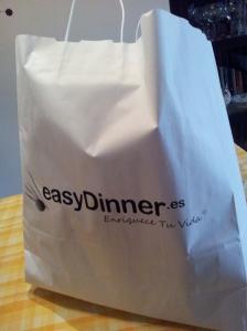 Bolsa easyDinner