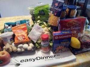 Ingredientes bolsa easyDinner