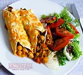 Enchiladas de Carne con Garbanzos1.