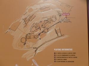 plano del Turó de la Rovira