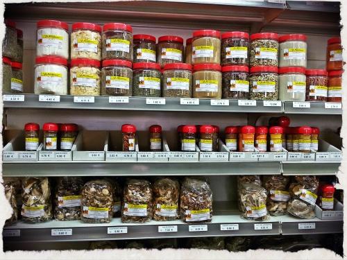 Especias La Barcelonesa + setas deshidratadas