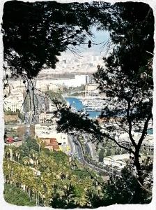 Puerto visto desde Montjuic