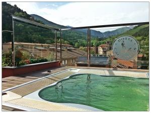 Jacuzzi del hotel Els Caçadors de Ribes de Freser