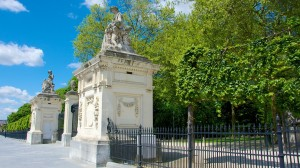 Entrada al Parc royal - Bruuselas