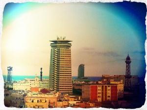 Vista desde la terraza 360º del hotel Barceloó Raval.