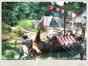 Espectáculo de los Vikingos en el Puy du fou