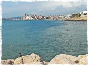 Vista de Sitges