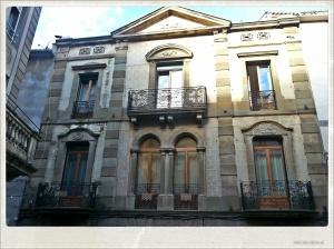 Fachada del hotel Cal Piteu
