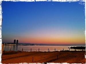 Barceloneta 6h de la mañana