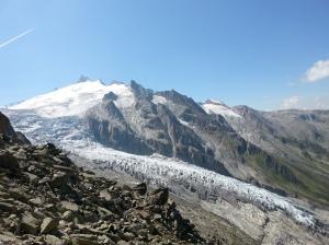 El glaciar del Trient